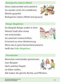 Das moderne Layout im Programm von B90/die Grünen (Auszug aus dem Begriffsglossar)