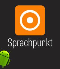 Splashscreen der Sprachpunkt-App.